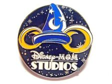 Disney Pin 4 Park Logo Booster Collection - MGM STUDIOS w/ Sorcerer Hat [42257]