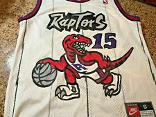 Vtg Team Nike Toronto Raptors NBA #15 Vince Carter men S basketball