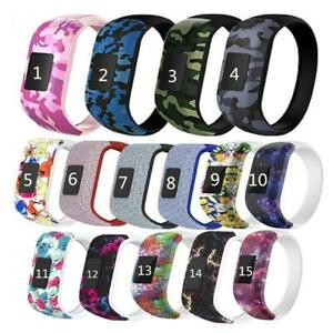 Silicone No Buckle Watch Band Strap for Garmin Vivofit JR/Vivofit JR2/Vivofit 3