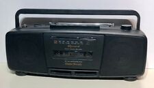 Garrard Stereo Radio Cassette Recorder Portable Boombox Model No. 211
