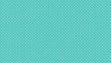 Makower Spot on Aqua T65  blue 100% cotton fabric, half metre, free p&p,