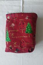 Geschenktasche Geschenksack Weihnachtstasche Beutel Rot Mit Motiv 20 x 13,5cm