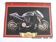 CARTE FICHE MOTO MUNCH MAMMUT  2000