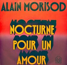 ++ALAIN MORISOD nocturne pour un amour/like a star SP M RECORDS RARE VG++