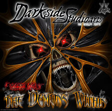 """KTM 2003-2007 EXC XC MODELS """"THE DEMONS WITHIN"""" GRAPHICS KIT 525 400 250 200 125"""