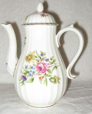 Royal Worcester Roanoke White Coffee Pot with Lid