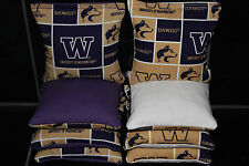 8 Cornhole Bean Bags made 