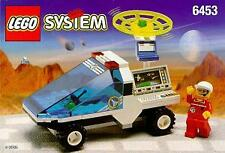 LEGO instruction book Space Port 6453 Com-Link Cruiser