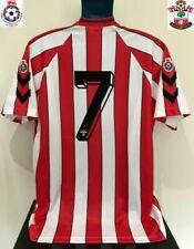 Southampton FC, England LE TISSIER 89/91 Home Football Shirt (L) Soccer Jersey