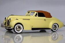 BROOKLIN MODELS 1/43 Scale B.C. 011 - 1939 BUICK CENTURY CONEVRTIBLE COUPE M-66C