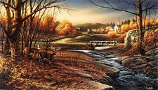 """HOLIDAY SALE"" Terry Redlin ''Indian Summer'' Signed Limited Edition NeverFramed"