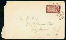 MayfairStamps France 1925 to Maplewood New Jersey Cover WWH34691