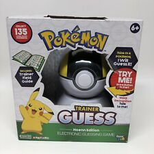 Pokémon Trainer Guess Hoenn Edition Voice Controlled Electronic Toy New