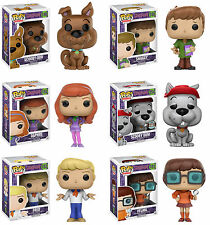 Funko POP! Animation ~ SCOOBY-DOO 6-FIGURE SET ~ Fred, Shaggy, Scooby Dum+++