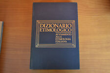 Dizionario etimologico avviamento alla etimologia italiana