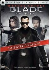 BLADE: TRINITY 2 DISC UNRATED ED DVD MOVIE *NEW* AUS EXPRESS