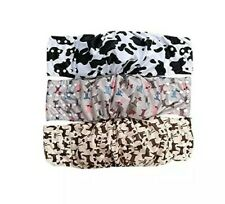 Wegreeco Washable Male Dog Diapers Lined LARGE (3) Male Dog Belly Wrap Snaps