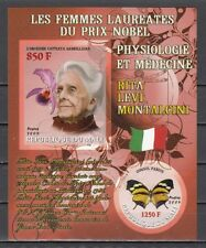 Mali, 2009 issue. R. Montacin, Nobel Prize Winner. Orchid & Butterfly. IMPERF