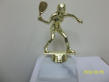 """Female Racquetball award trophy, comes with engraving, about 5.75"""" high"""