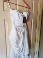 BNWT Womens Ivory Coast Satin-Look Dress. Size 6.