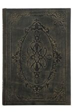 Large Antique Scroll Book Box Hidden Jewelry Secret Fake Faux Vintage