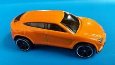 Rare Lamborghini Urus - Orange - 2016 Hw Hot Trucks Series * Hot Wheels * Open