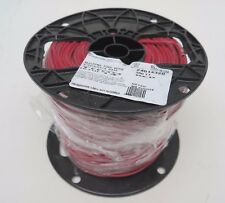 New Roll/Spool General Cable RED 14 AWG 14AWG STR 500' 600V Copper/THNN wire