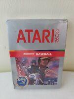 RealSports Baseball Atari 2600 Video Game New in Box Factory Sealed