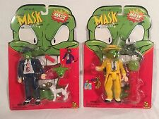 MASK THE ANIMATED SERIES ACTION FIGURE BELLY BUSTIN MASK/WILD WOLF MASK - SEALED