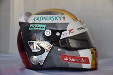 SEBASTIAN VETTEL 2016 ITALIAN MONZA GP F1 REPLICA HELMET FULL SIZE
