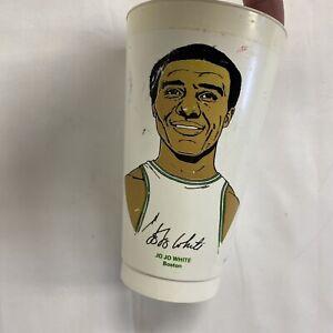 1972 7-11 NBA Basketball Collectors Slurpee Cup -  Jo Jo White - Boston Celtics