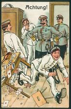 Preußen, Farkbkarte Genesenden-Kompanie Pionier-Ers.-Batl. Nr.29 - selten