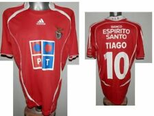 2006-07 SLB Benfica Tiago #10 Home Football Shirt Soccer Jersey size - L