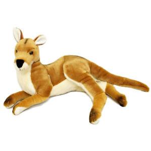 "Tully the Kangaroo Soft Plush Toy 17""/43cm Red Bocchetta Plush Toys"