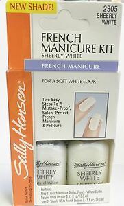 Sally Hansen French Manicure Kit - Sheerly White 2305
