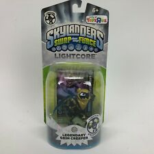 Skylanders swap force Lightcore Legendary Grim Creeper(Toys R Us Exclusive)-New