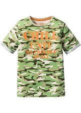 T-Shirt grün gemustert Größe 140/146