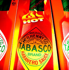 Tabasco Habanero Sauce 60ml �'�6.70/100ml  Auch:Chipotle Original Green BBQ Chilli