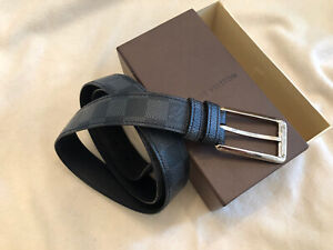 Authentic Louis Vuitton Damier Mens Belt