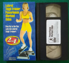 VHS ITA Lateral Thigh Trainer Powerhouse Workout Video Brenda DyGraf No DVD (v127
