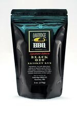Oakridge BBQ Black Ops Brisket Dry Rub 6oz Resealable Packet Barbecue Meat Spice