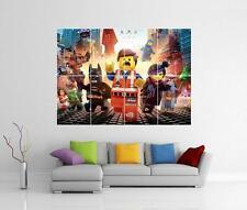 LEGO Movie GIGANTE MURO ARTE FOTO STAMPA POSTER