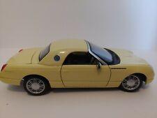 Maisto Edition - Thunderbird  Car 1:18 Scale Die Cast YELLOW