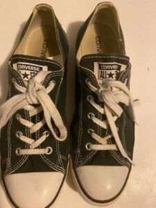 Converse,All Star,Shoes,Womens Size 10,Black,Preowned Used,See Pictures.