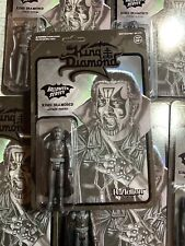 Heavy Metal Band KING DIAMOND  Super7 ReAction Action Figure BLACK SDCC 2019
