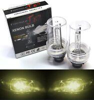 HID Xenon D2S Two Bulbs Head Light 3000K Yellow Bi-Xenon Replacement Low Beam