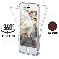 Shockproof 360 Silicone Protective Clear Case Cover For Apple iPhone 6 Plus