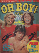 Oh Boy! Magazine 13 November 1976 Issue 4   Eric of The Bay City Rollers  Buster