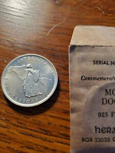 Monroe Doctrine heraldic art coin so called half dollar