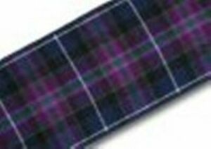 Pride of Scotland Modern Tartan Ribbon Various Widths & Lengths
